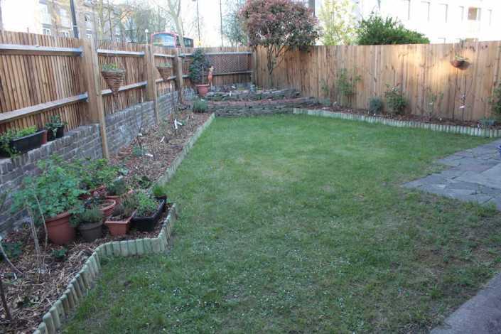 Carol's Garden after plantings
